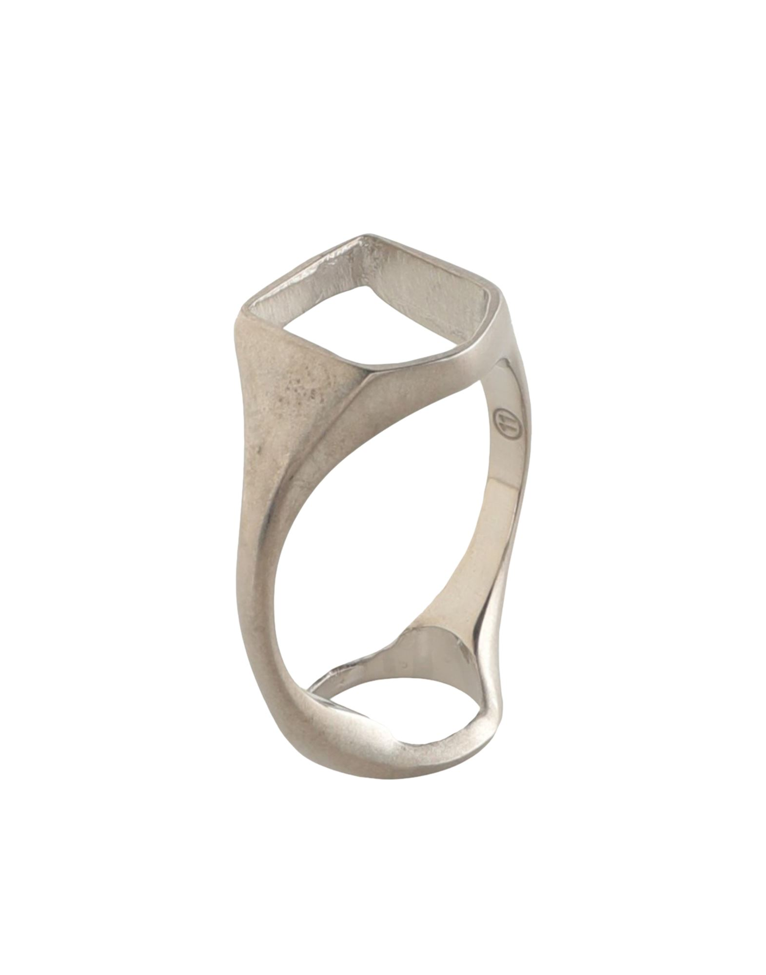 《セール開催中》MAISON MARGIELA メンズ 指輪 シルバー S シルバー925/1000 100%