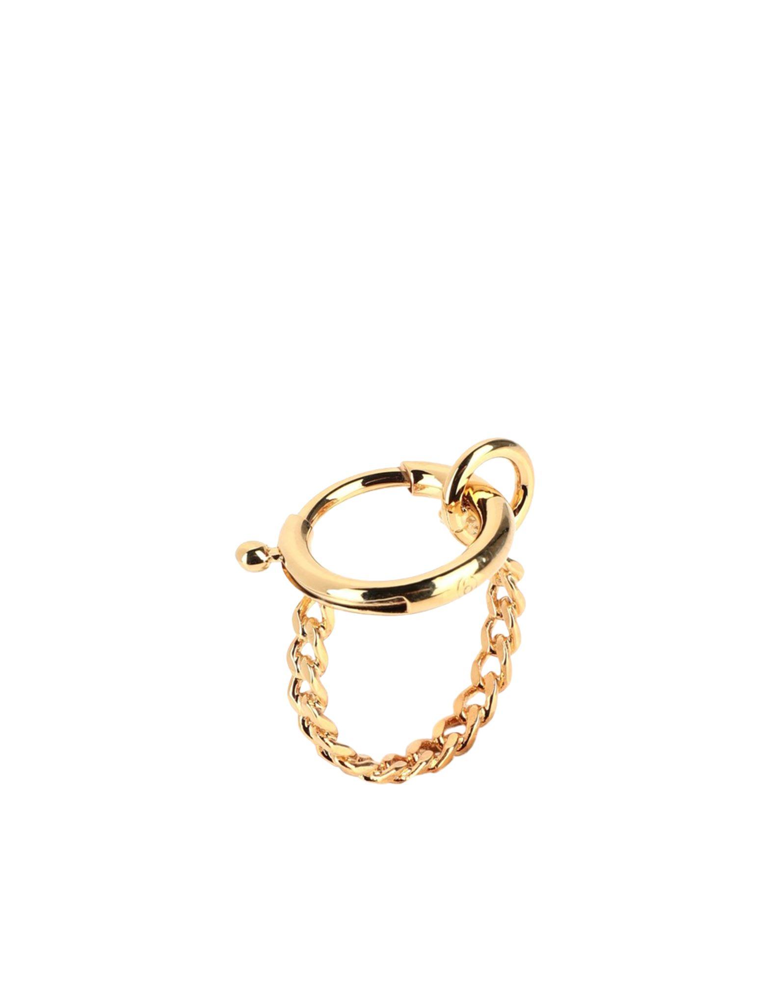 《セール開催中》MM6 MAISON MARGIELA レディース 指輪 ゴールド S 真鍮/ブラス 100%