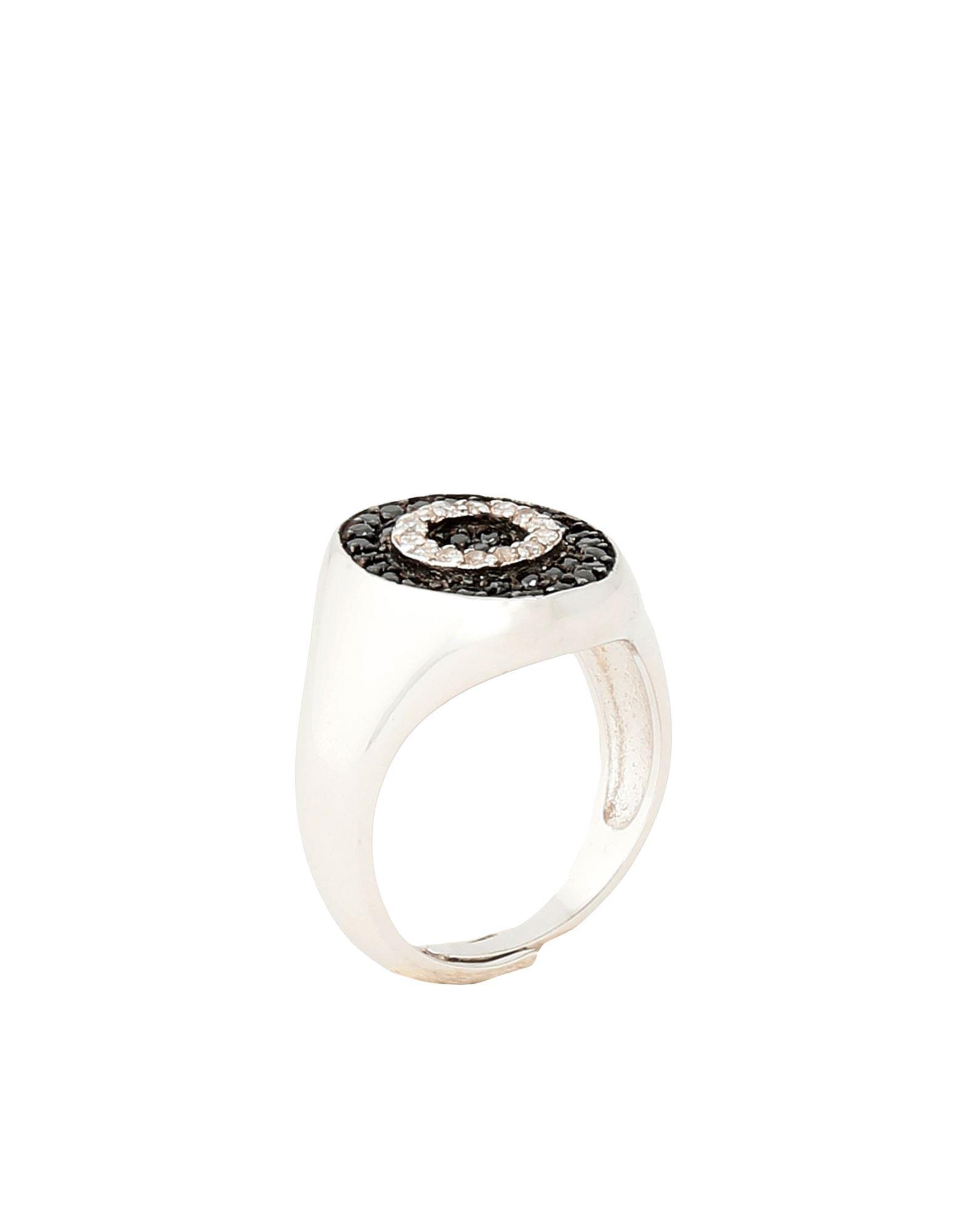 《セール開催中》NOVE25 レディース 指輪 シルバー 8 シルバー925/1000 / 合成石 OVAL SIGNET RING