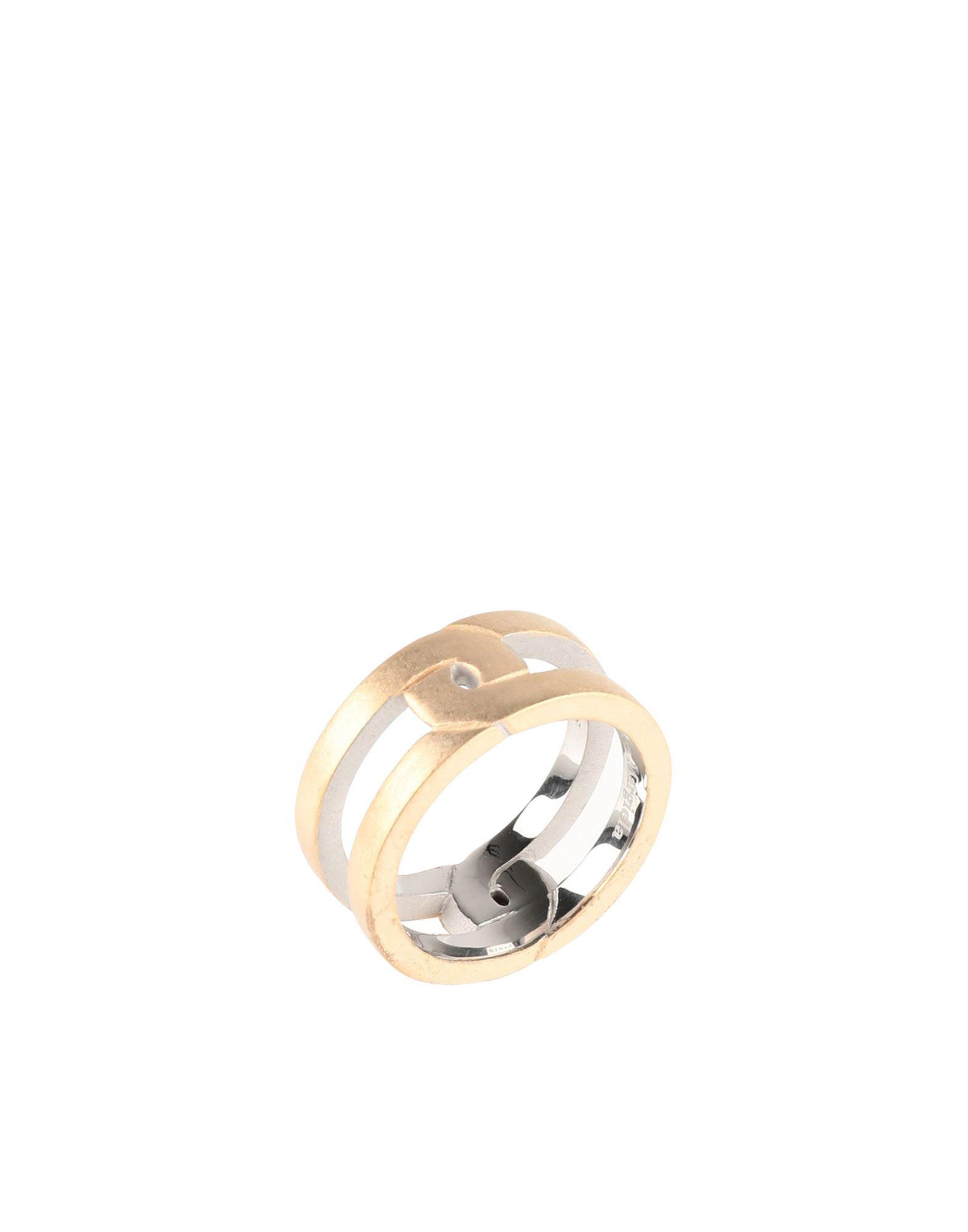 《セール開催中》MAISON MARGIELA メンズ 指輪 カッパー XS シルバー925/1000 100%