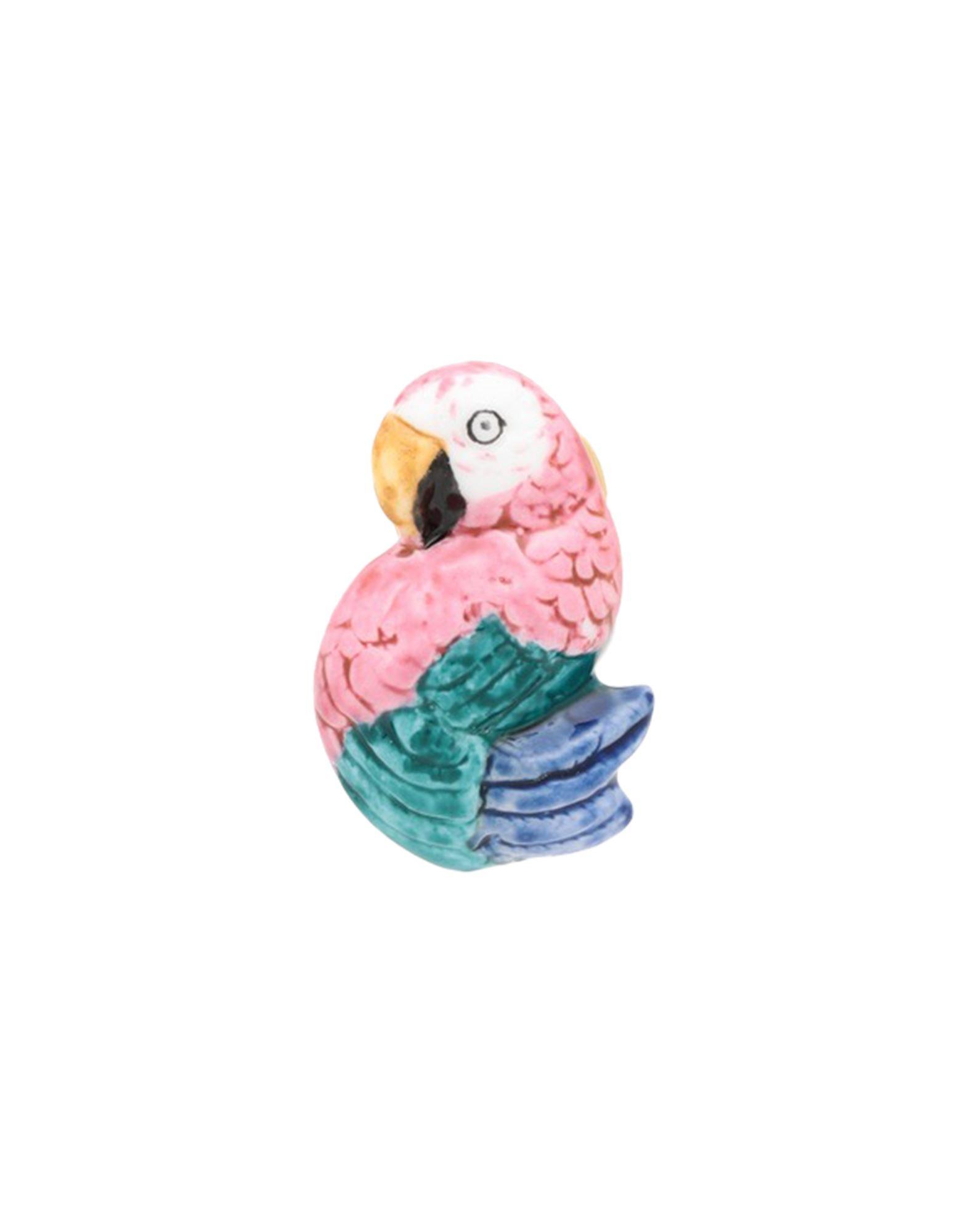 《セール開催中》NACH レディース ブローチ ピンク セラミック / 真鍮/ブラス PINK PARROT PIN