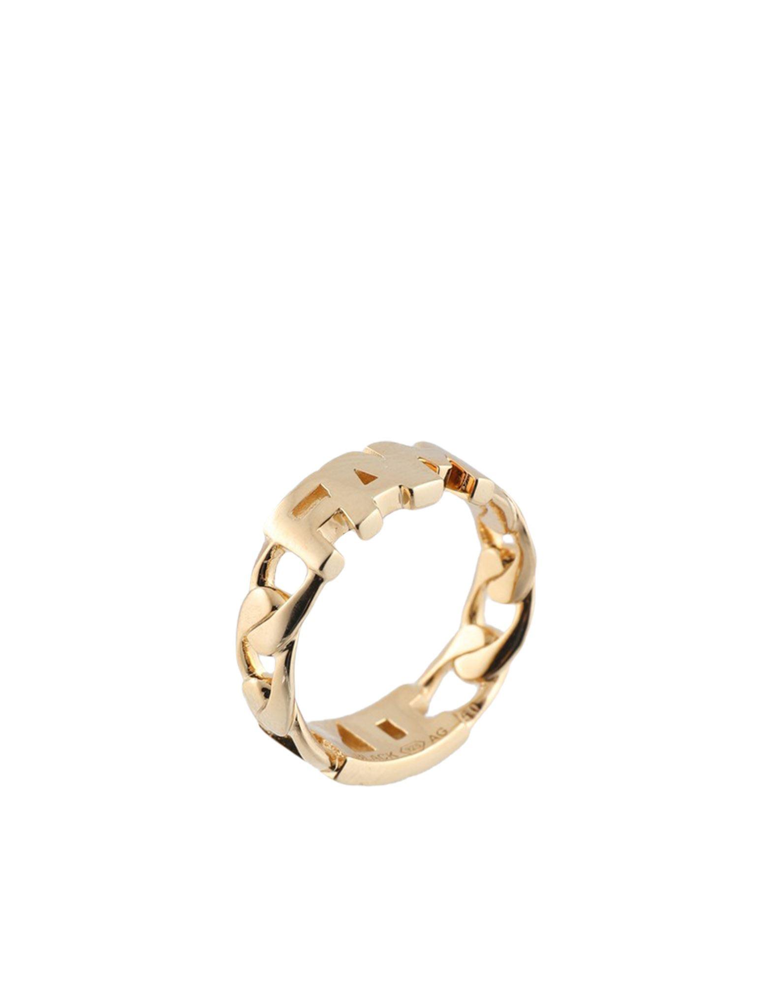 《セール開催中》MARIA BLACK レディース 指輪 ゴールド 50 シルバー925/1000 FAMILY RING
