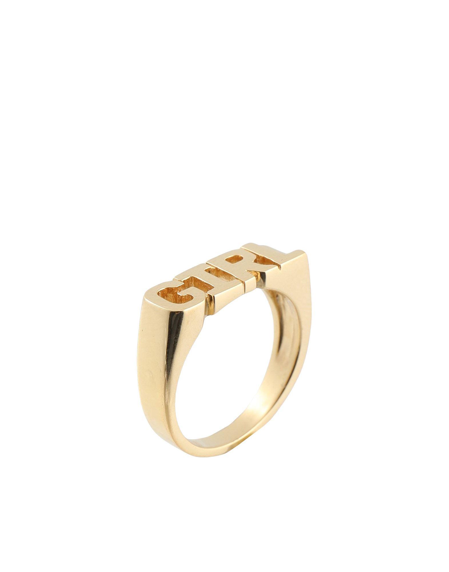 MARIA BLACK マリア・ブラック レディース 指輪 GIRL RING ゴールド