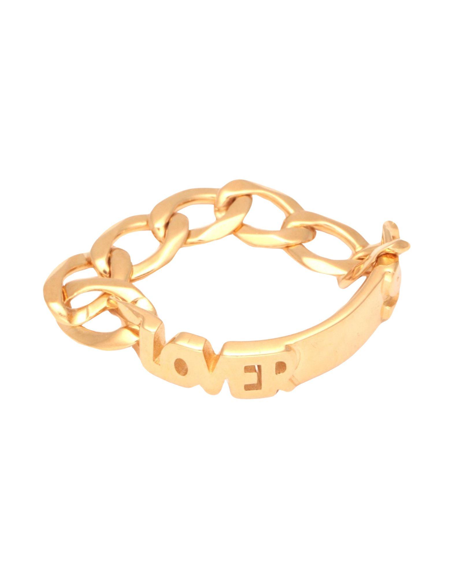 《セール開催中》MARIA BLACK レディース 指輪 ゴールド 50 シルバー925/1000 LOVERS RING