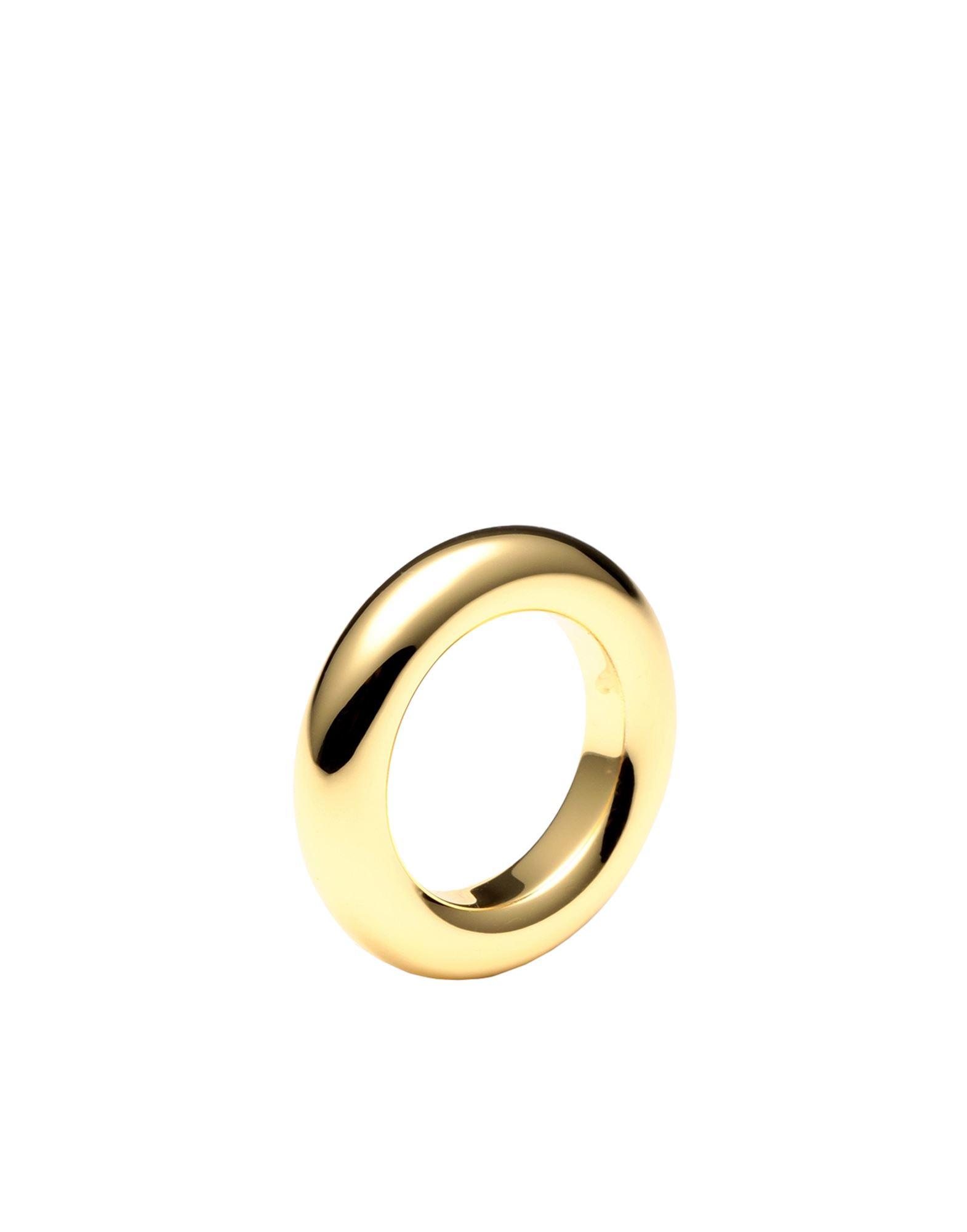 《セール開催中》LUV AJ レディース 指輪 ゴールド 5 真鍮/ブラス Amalfi Tube Ring- Gold