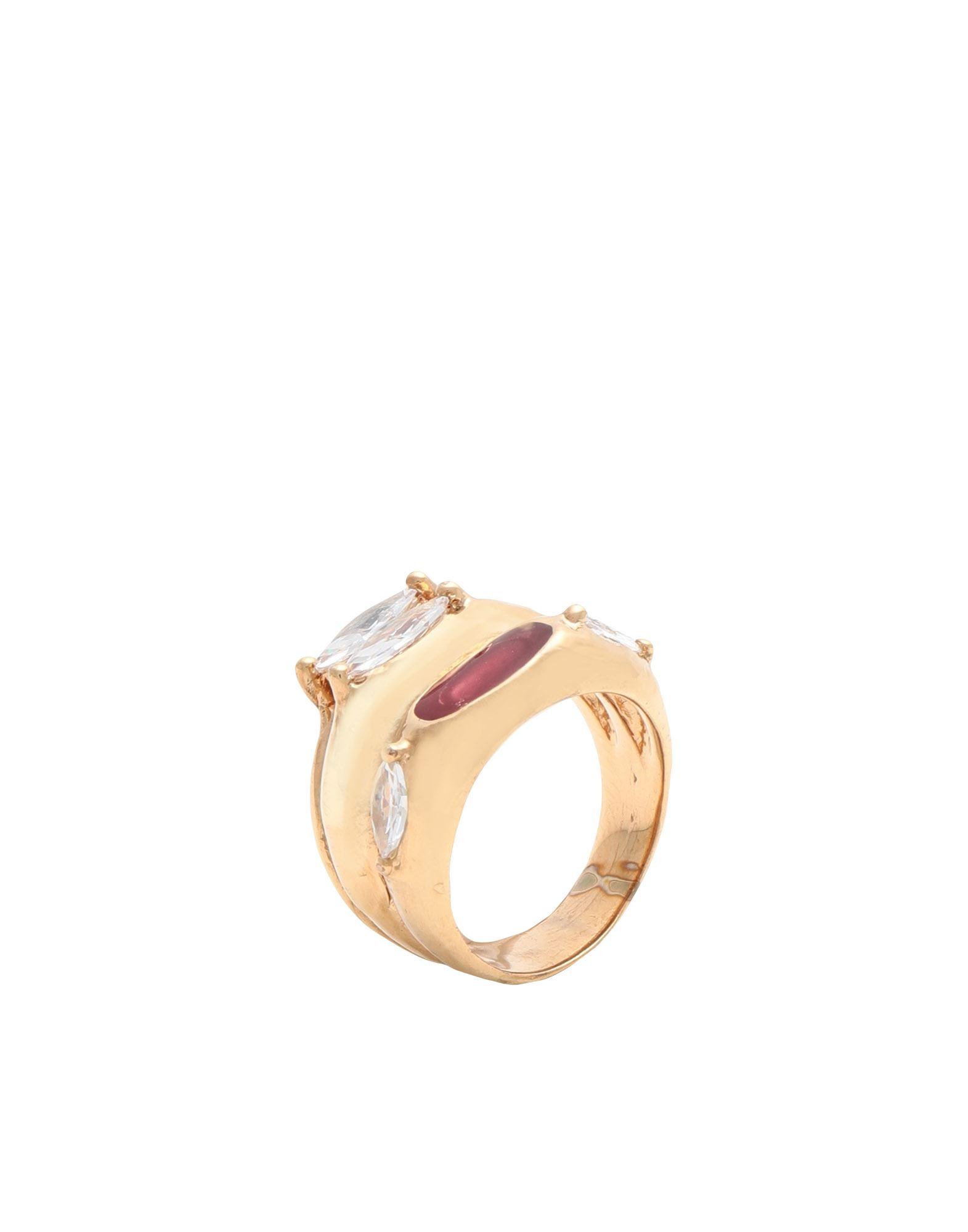 《セール開催中》VOODOO JEWELS レディース 指輪 ゴールド 52 ブロンズ / ポリウレタン FERONIA RING