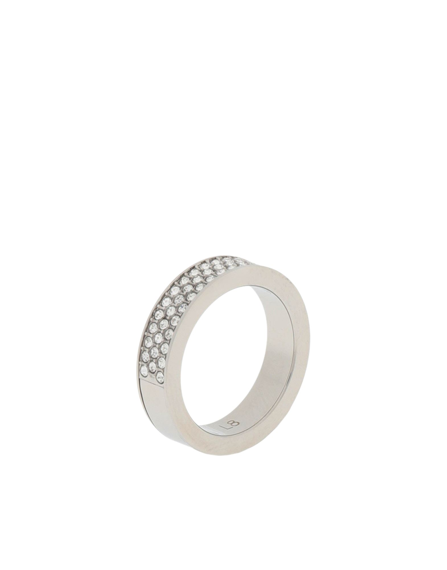 《セール開催中》CALVIN KLEIN レディース 指輪 シルバー 8 金属