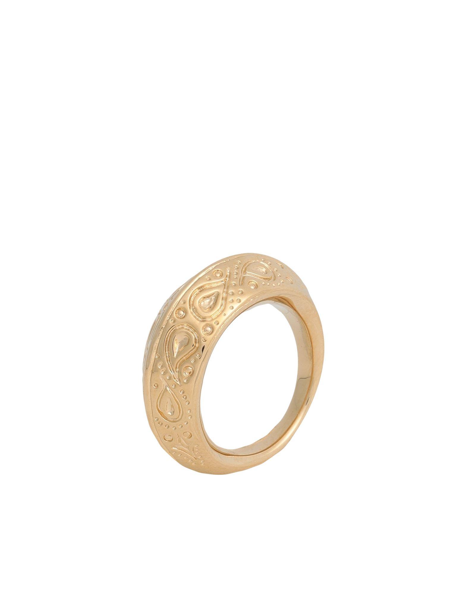 《セール開催中》AUR?LIE BIDERMANN レディース 指輪 ゴールド 50 金属