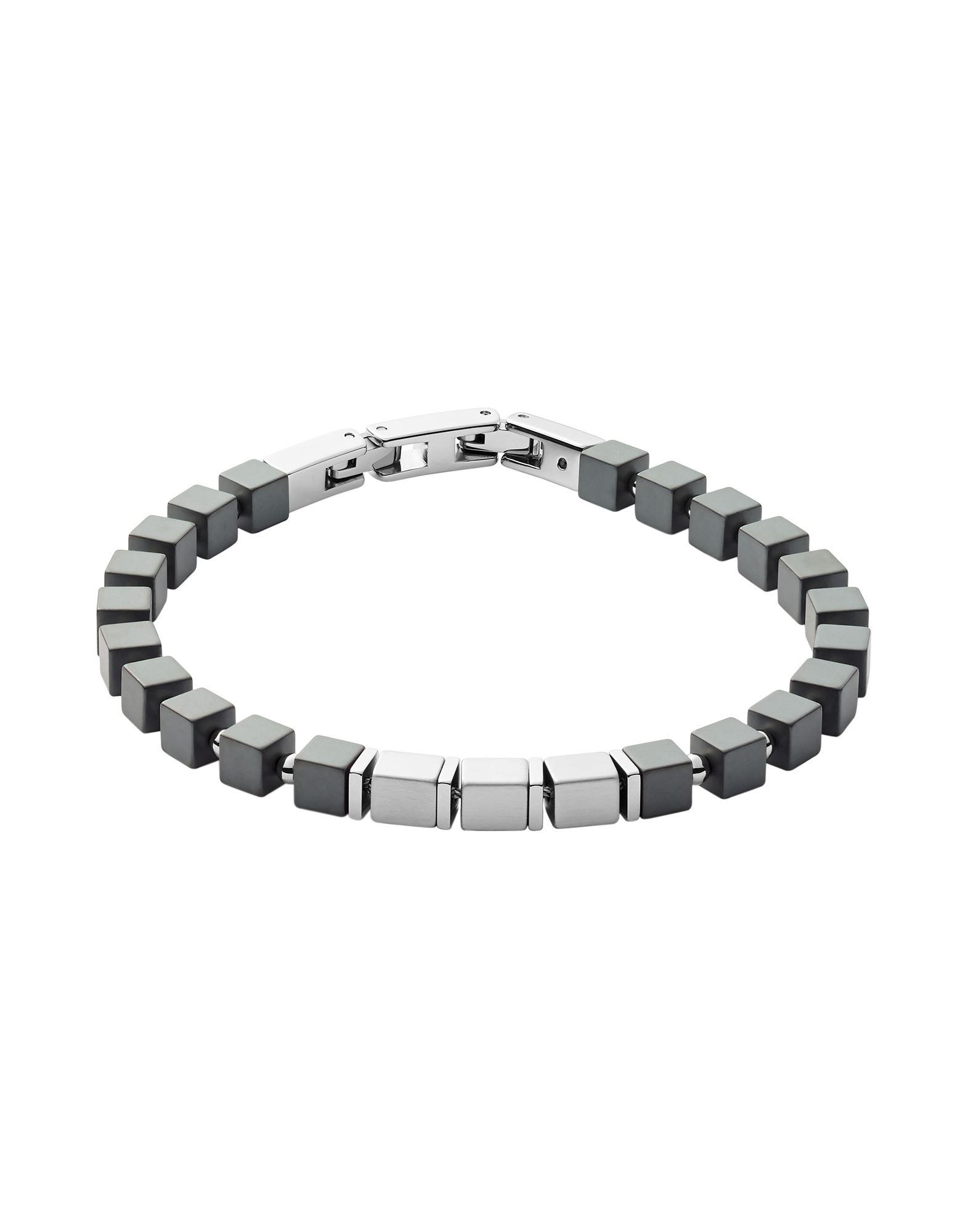 《セール開催中》SKAGEN メンズ ブレスレット 鉛色 ステンレススチール / エマタイト