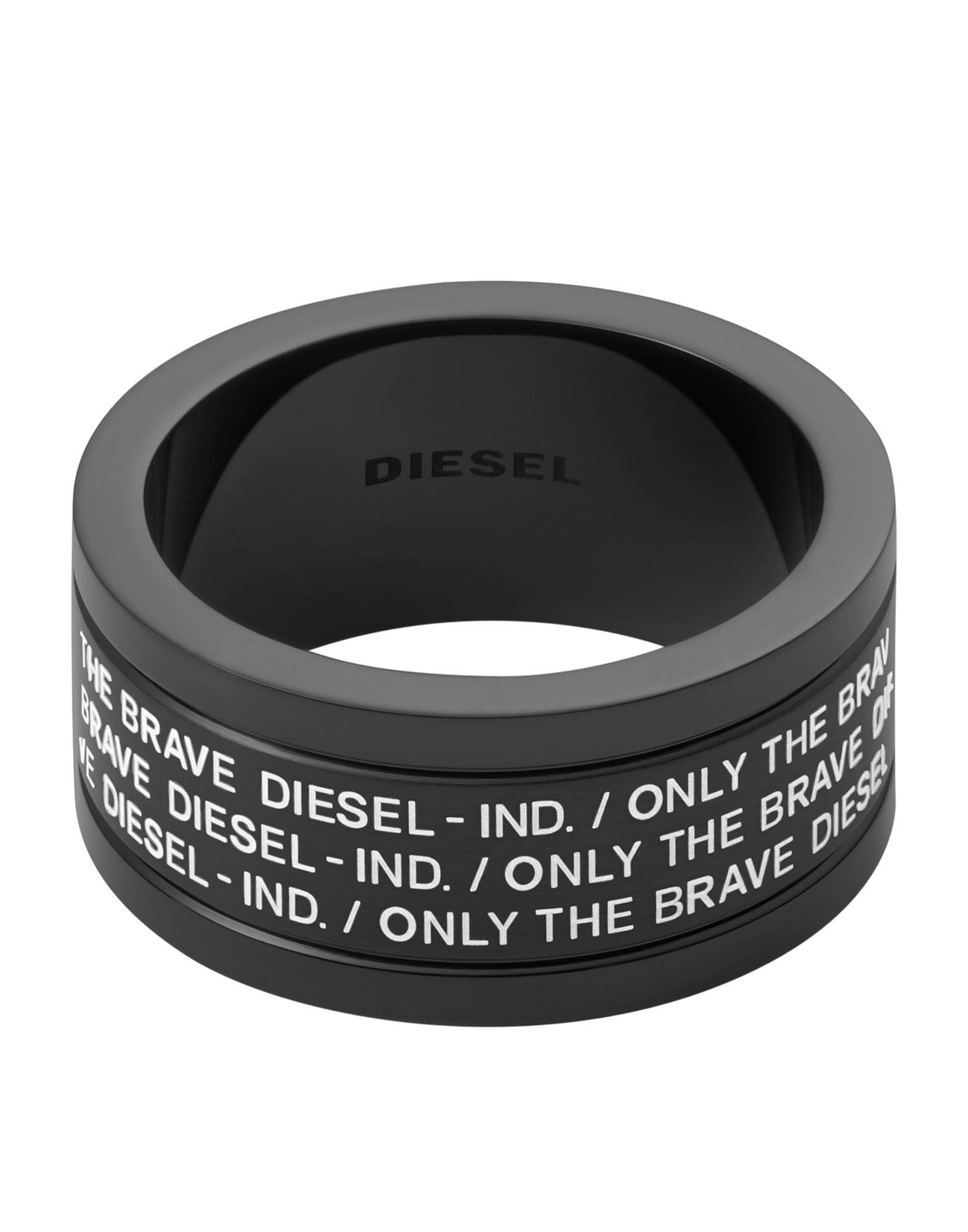 DIESEL ディーゼル メンズ 指輪 ブラック