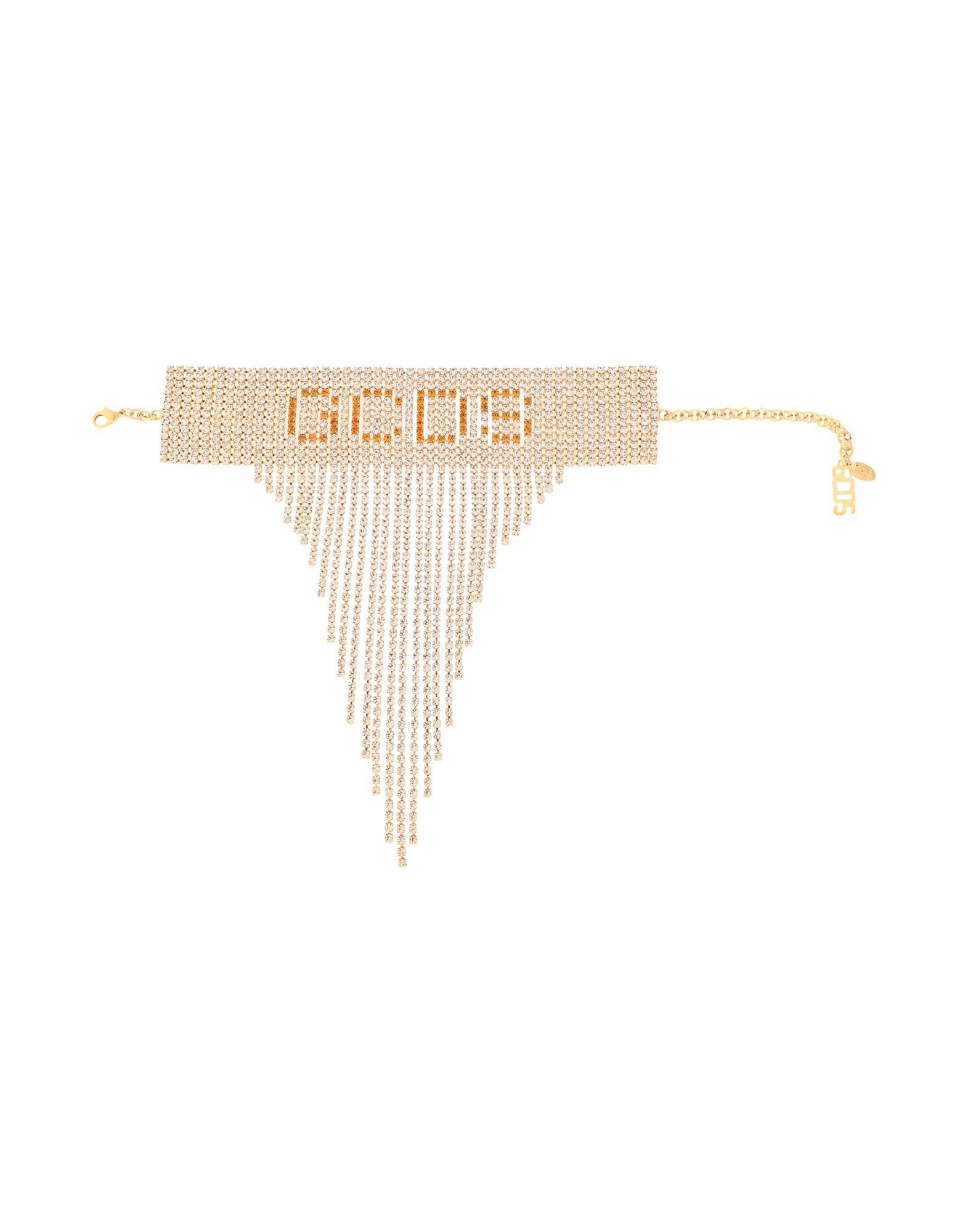 《セール開催中》GCDS レディース ネックレス ゴールド 金属