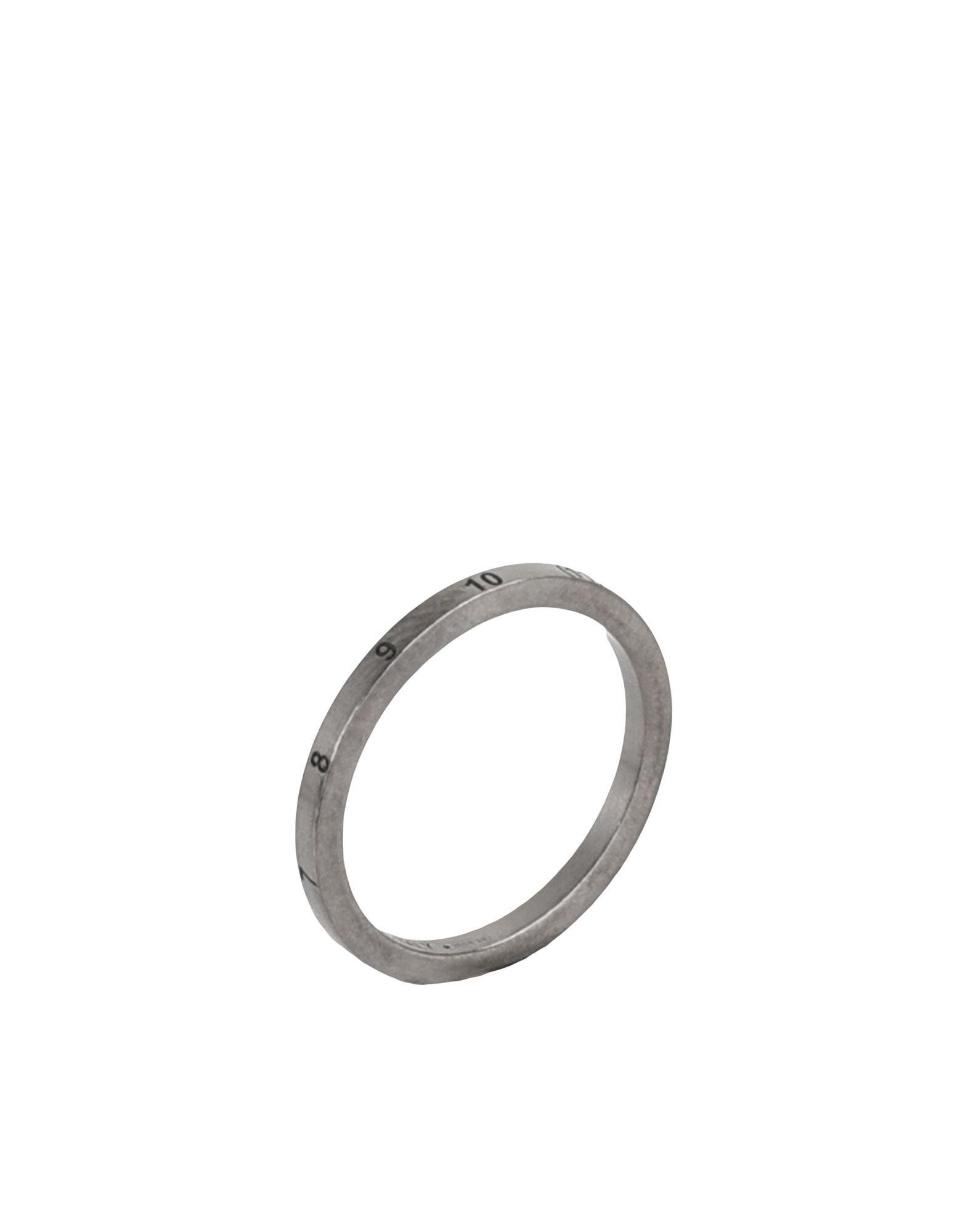 MAISON MARGIELA メゾン マルジェラ メンズ 指輪 鉛色