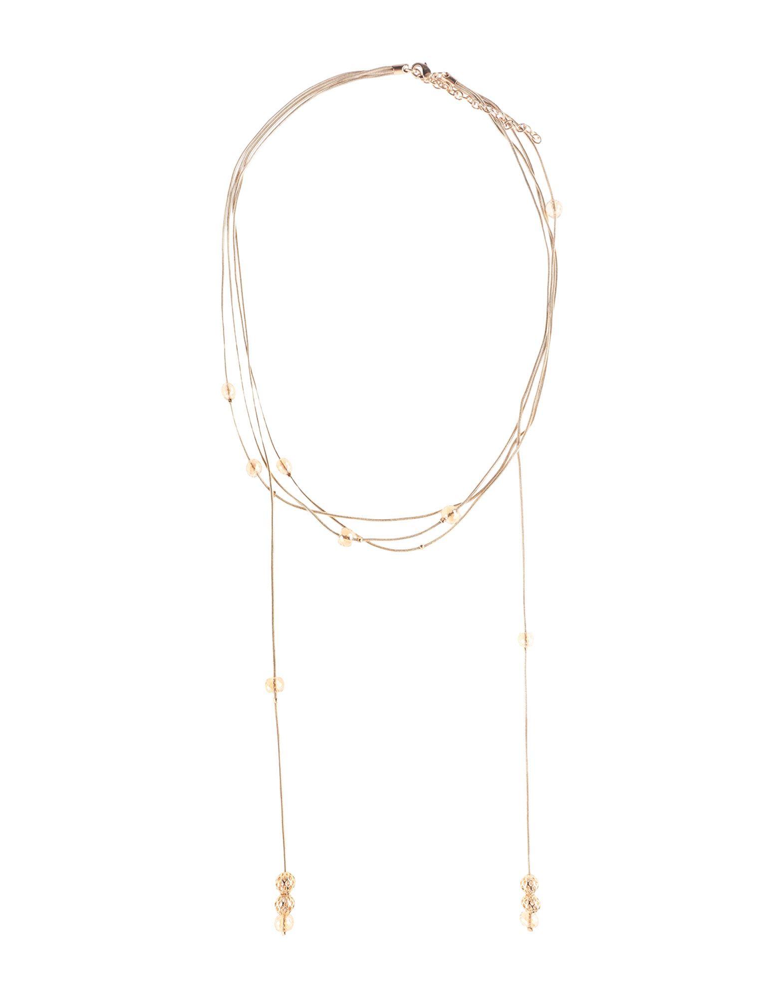 《セール開催中》PENNYBLACK レディース ネックレス ゴールド 金属 / ガラス