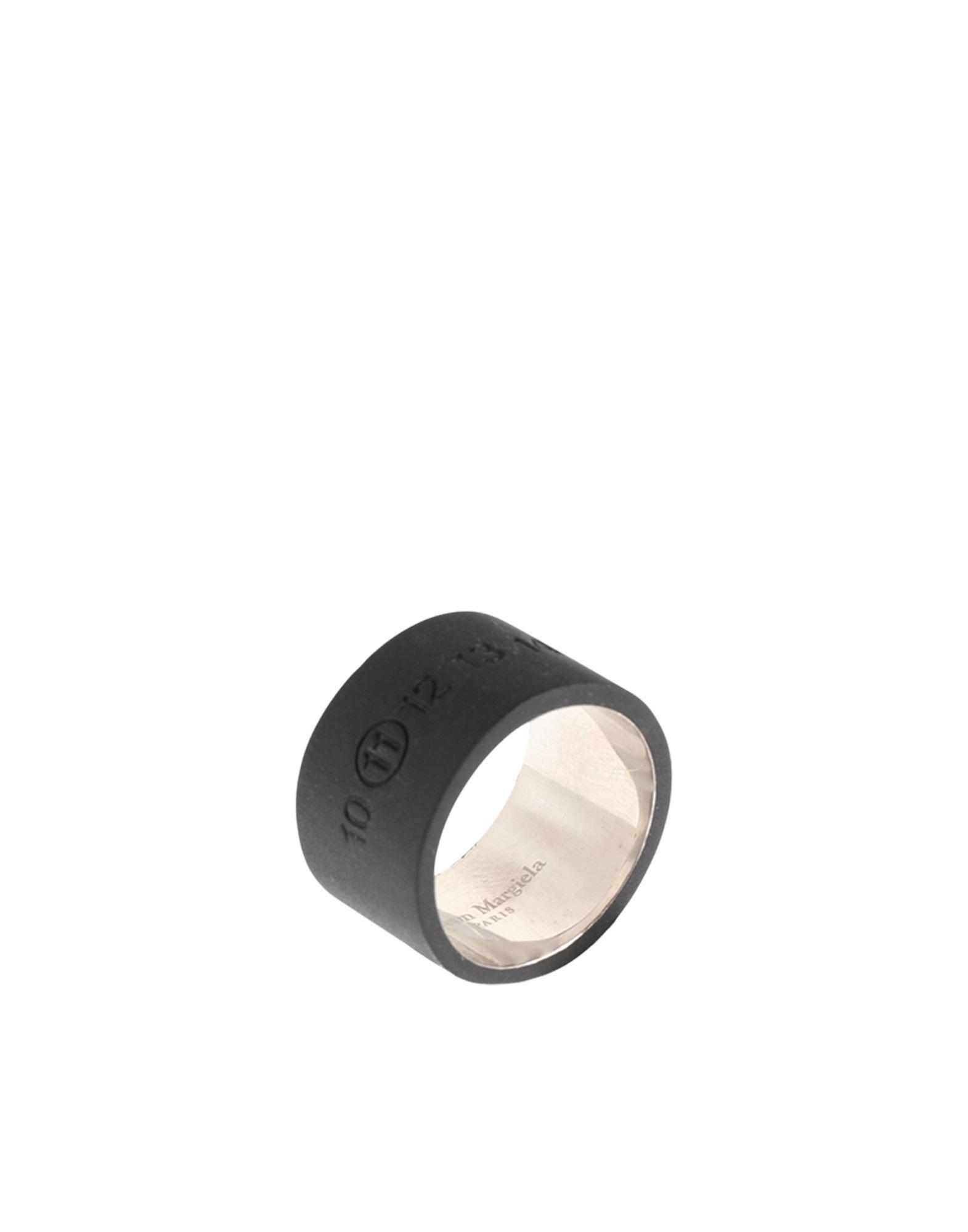 MAISON MARGIELA メゾン マルジェラ メンズ 指輪 ブラック