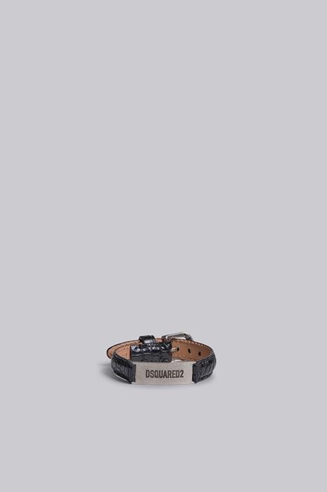 Bracelet Taille OneSize 100% Cuir de veau Zamak - Dsquared2 - Modalova