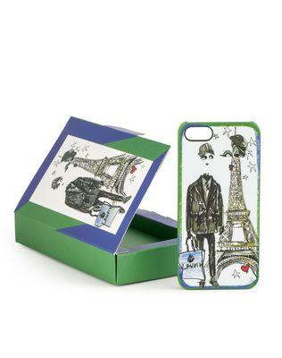LANVIN Male sketch iPhone 5 case Stationary D d