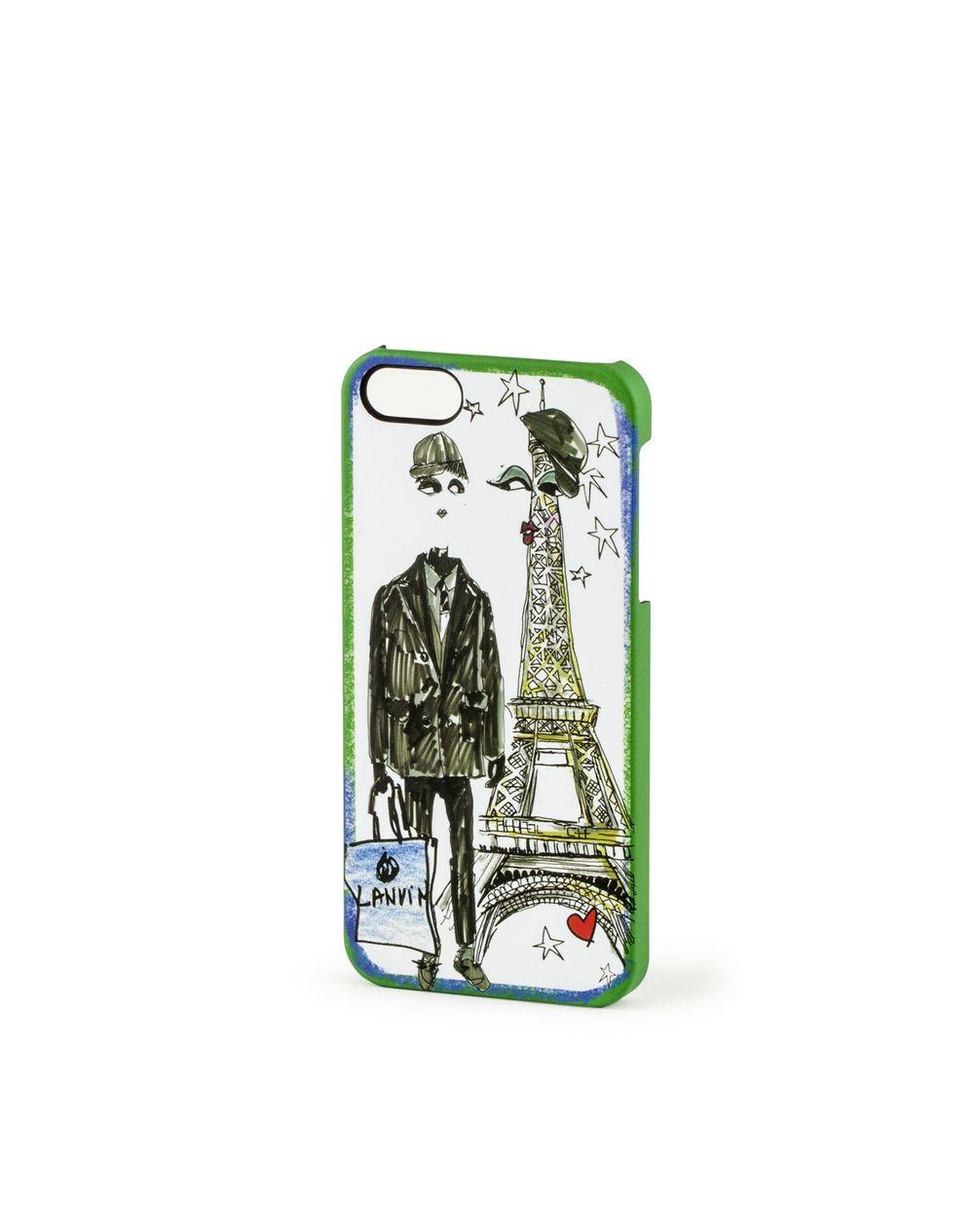 Male sketch iPhone 5 case - Lanvin