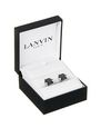 LANVIN Cufflinks Man CUFF LINKS WITH FACETED ONYX f
