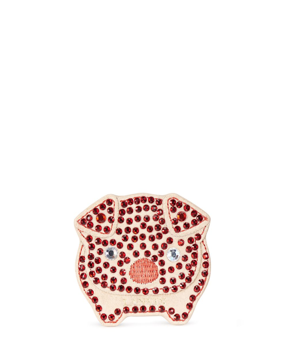 POPPY EMBROIDERED SHOE PATCH - Lanvin