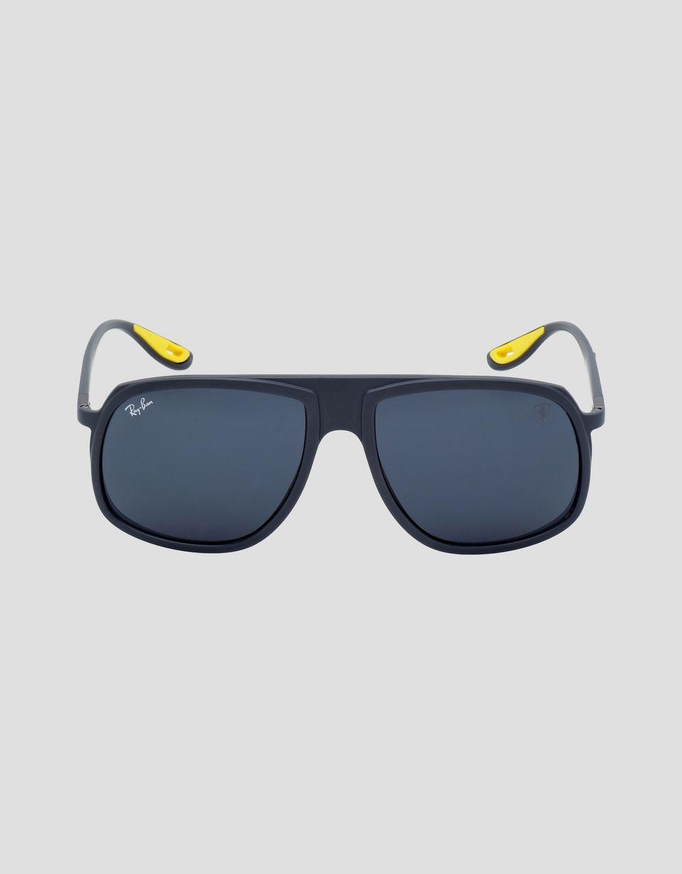 Scuderia Ferrari Online Store - Ray-Ban for Scuderia Ferrari RB4308M United States GP Limited Edition - Sunglasses
