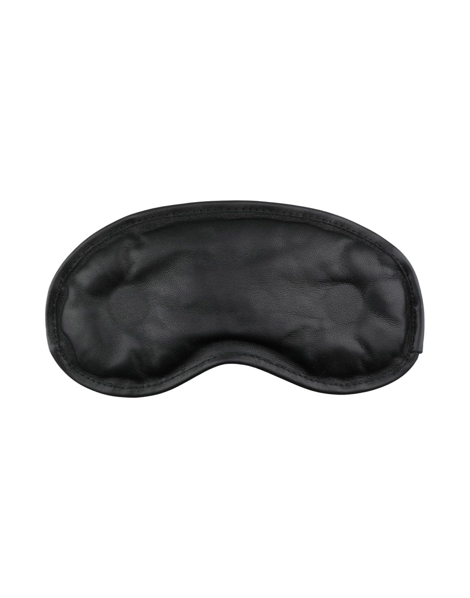 MAISON MARGIELA Eyemasks. nappa leather, no appliqués, solid color, contains non-textile parts of animal origin. 100% Ovine leather