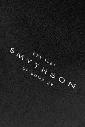 SMYTHSON レザー ラージポーチ