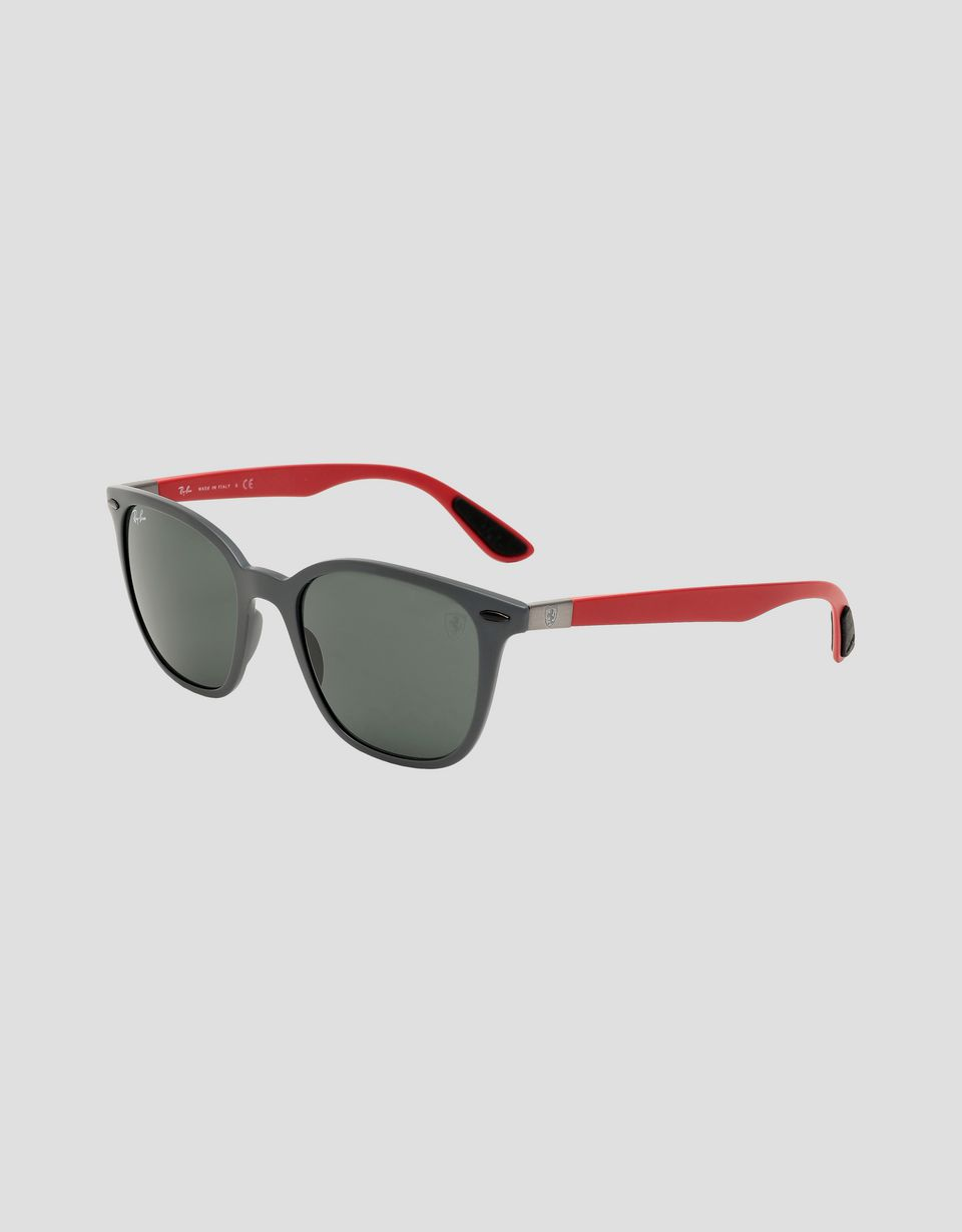 Scuderia Ferrari Online Store - Ray-Ban for Scuderia Ferrari RB4297M Limited Edition British GP - Sunglasses