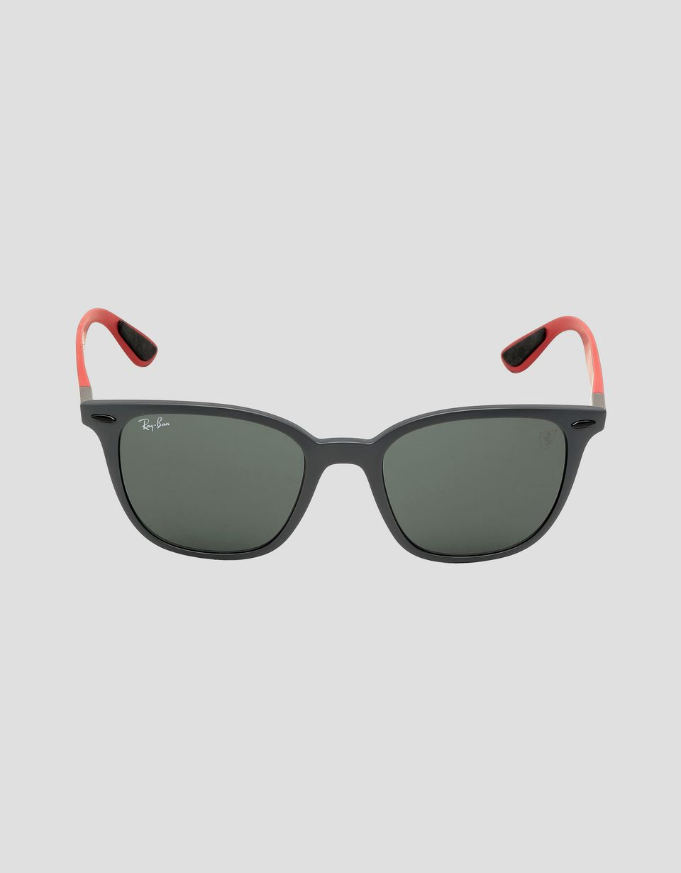 Scuderia Ferrari Online Store - Ray-Ban for Scuderia Ferrari RB4297M British GP Limited Edition - Sunglasses