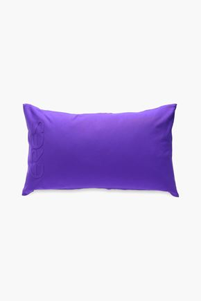 ERES Algodon logo-embossed scuba beach pillow