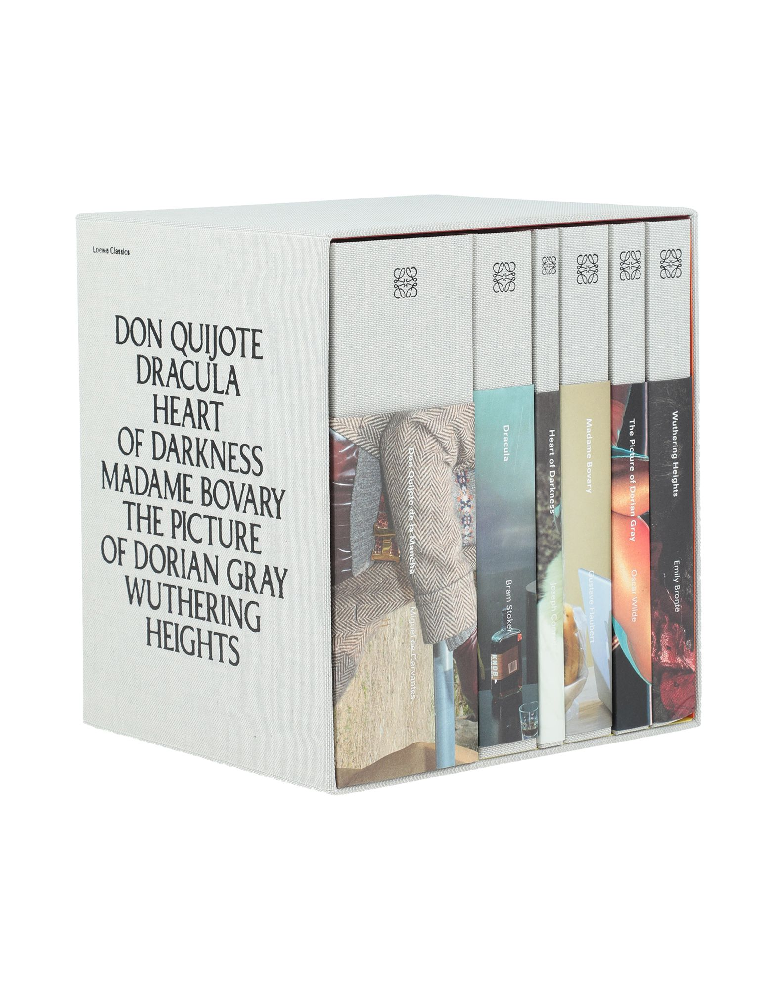 LOEWE LIFESTYLE. hardcover, text in english, 6-piece set, limited edition. Paper