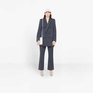 BALENCIAGA Pants Woman Fitted Leg Pants f