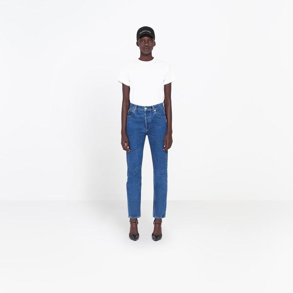 BALENCIAGA Pants Woman Genuine Jeans g