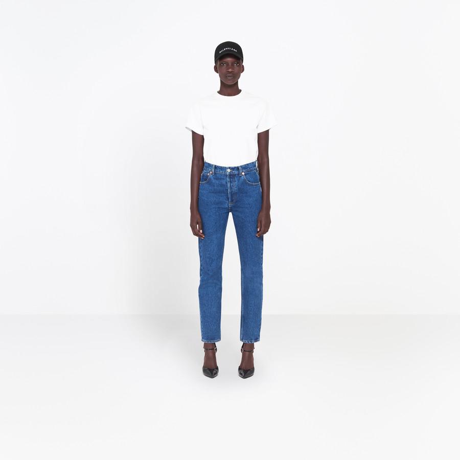 BALENCIAGA Genuine Jeans Pants Woman f