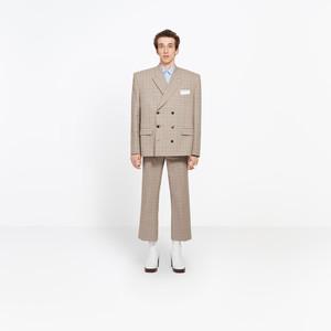 BALENCIAGA Pantalones U Pantalón Recortado Informal f