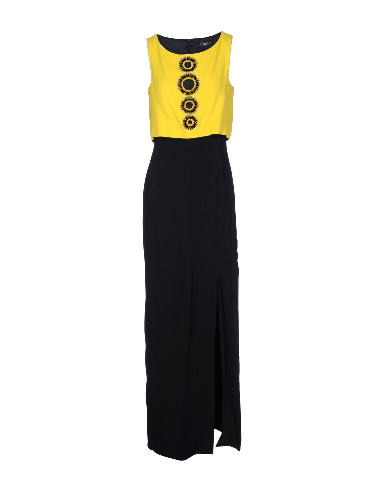 CLIPS Длинное платье test alligator clips crocodile clamp red black size l 5 pairs