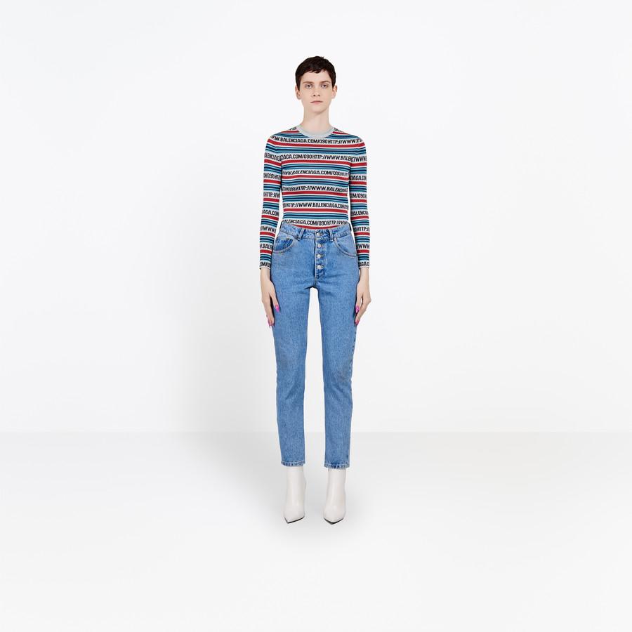 BALENCIAGA Tube Jeans Pants D f