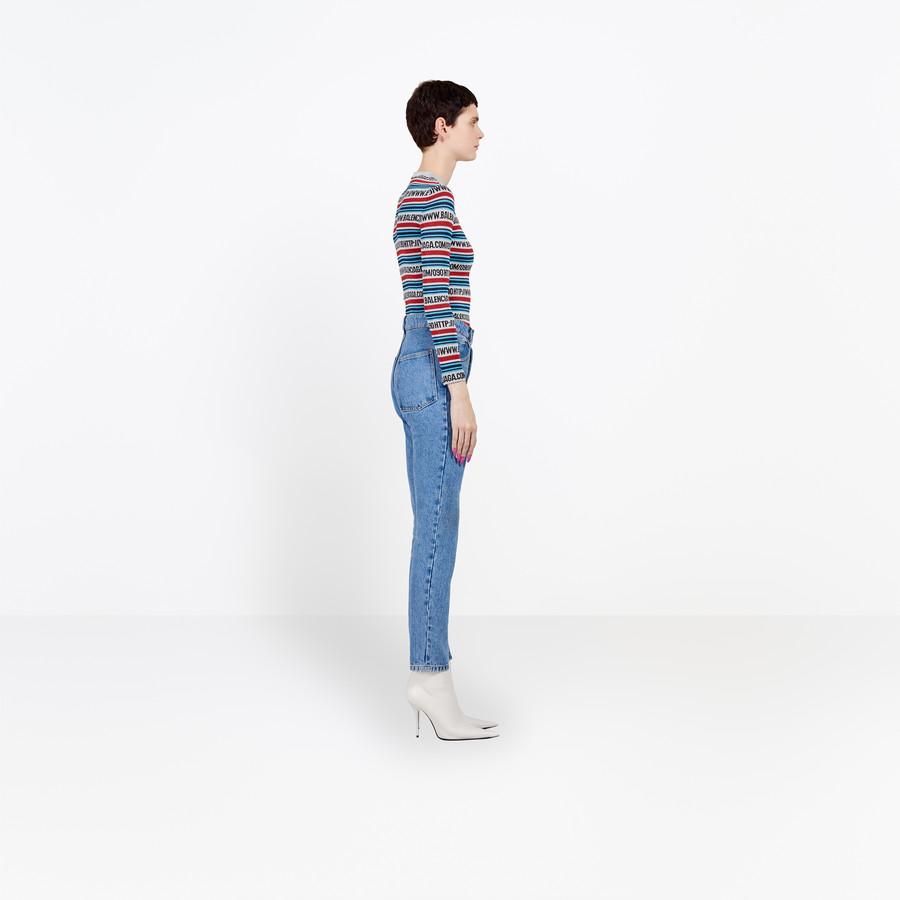 BALENCIAGA Tube Jeans Pants D i