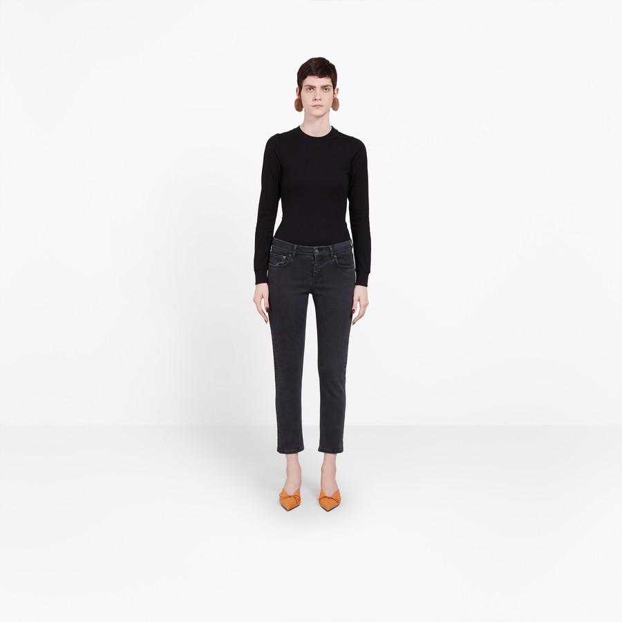BALENCIAGA Shrunk Jeans Denim Woman g