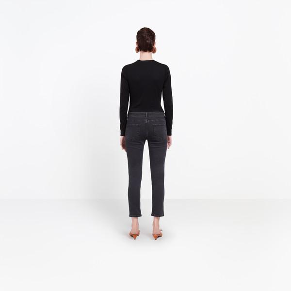 BALENCIAGA Denim Woman Shrunk Jeans h