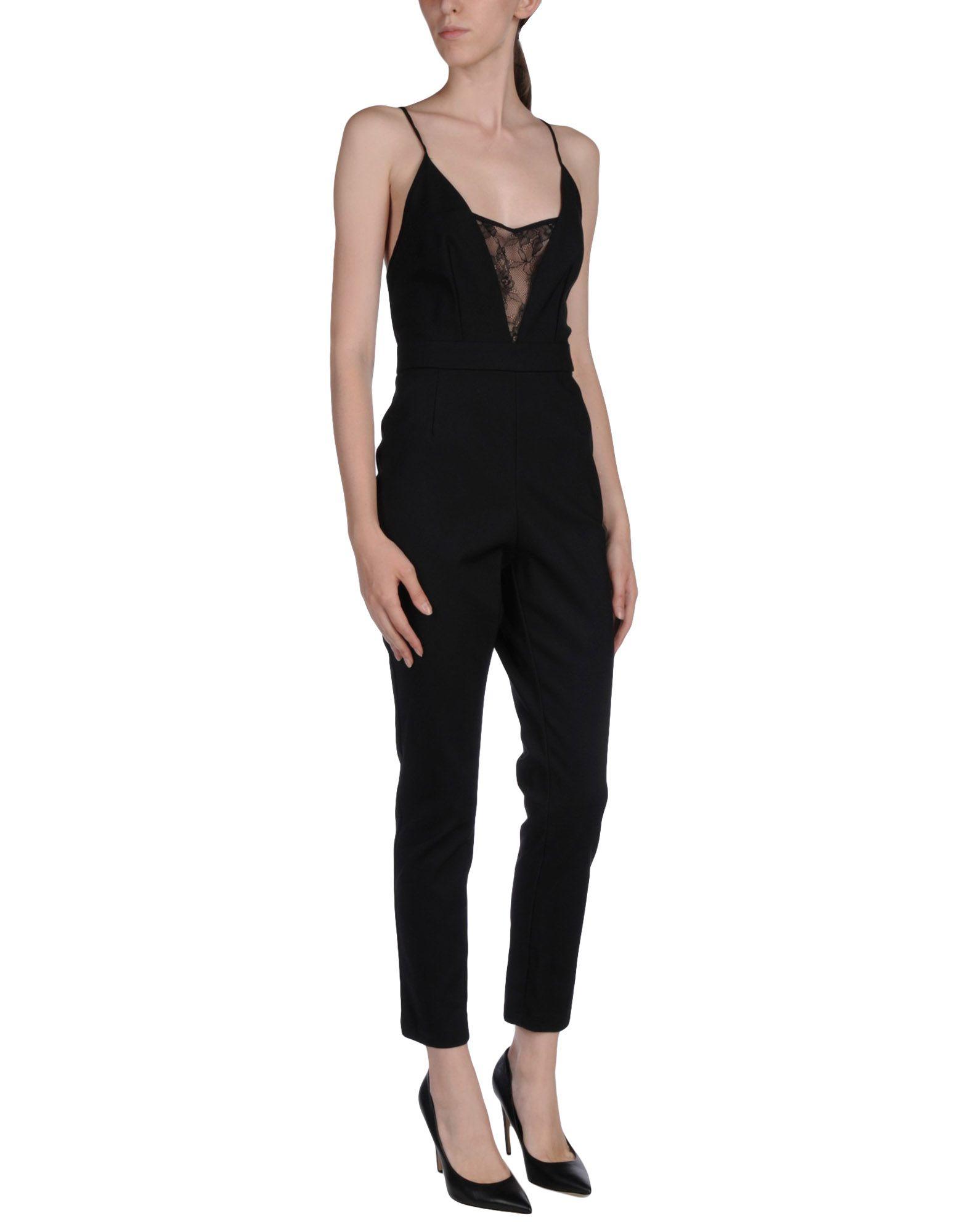 MY SECRET BLACK DRESS Комбинезоны без бретелей