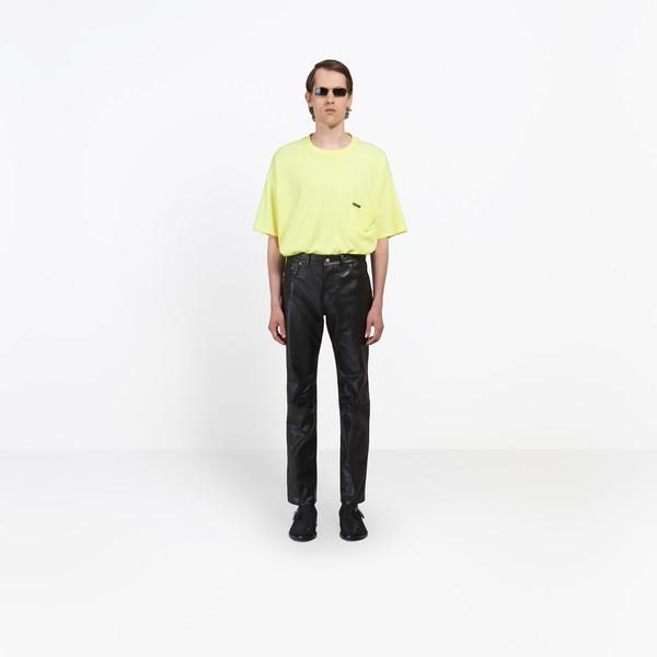 Regular Leather Pants