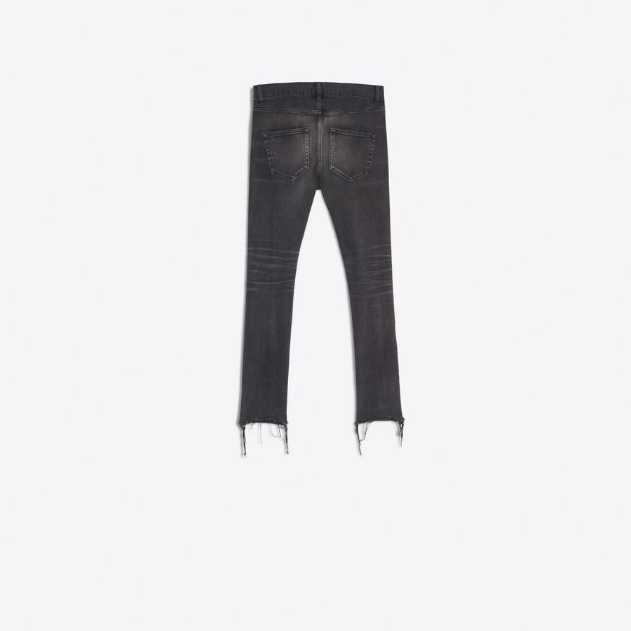 BALENCIAGA Distressed Skinny Jeans  Denim D d