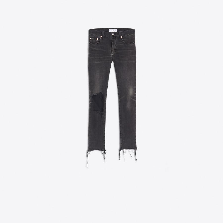 BALENCIAGA Distressed Skinny Jeans  Denim D f