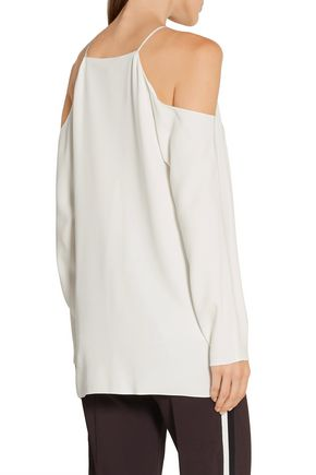 THE ROW Karuss cutout stretch-cady top