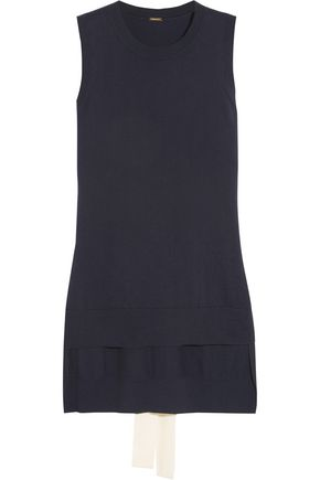ADAM LIPPES Cotton and cashmere-blend tunic