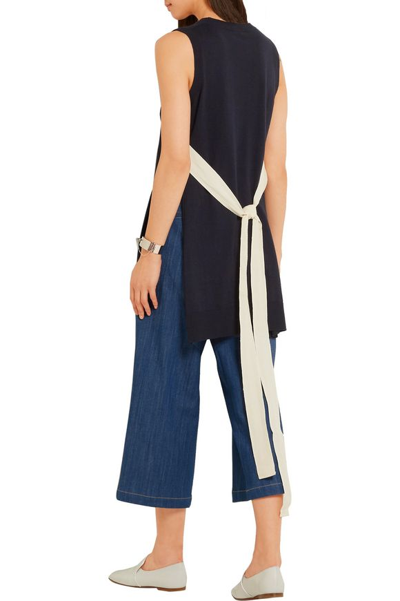Cotton and cashmere-blend tunic | ADAM LIPPES | Sale up to 70% off | THE  OUTNET