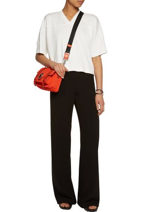 T by ALEXANDER WANG Modal-blend piqué top