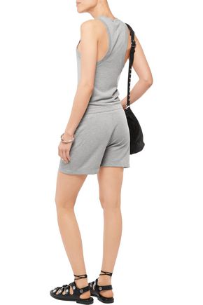 T by ALEXANDER WANG Terry playsuit