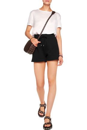 T by ALEXANDER WANG Cotton-blend jersey shorts