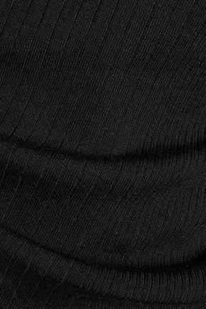 T by ALEXANDER WANG Ribbed merino wool tank